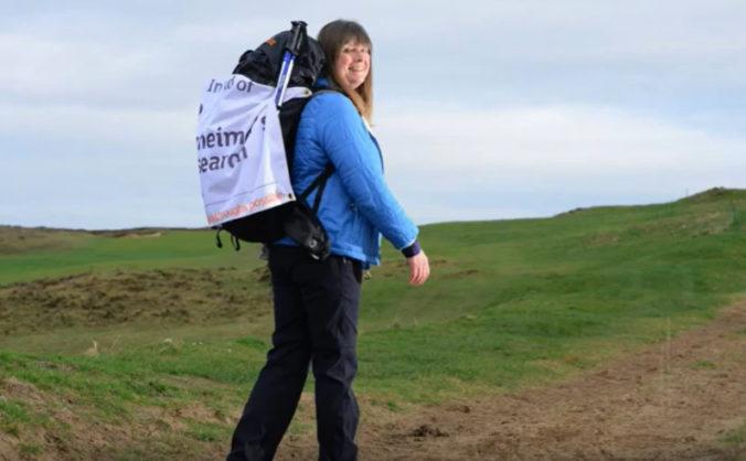 Karen chce prejsť desaťtisíce míľ pozdĺž pobrežia Británie a Írska, domov nepríde ani na Vianoce