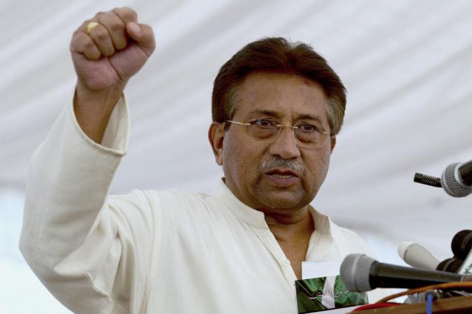 Exprezident Mušarraf dostal trest smrti za vlastizradu, k moci sa dostal vojenským prevratom