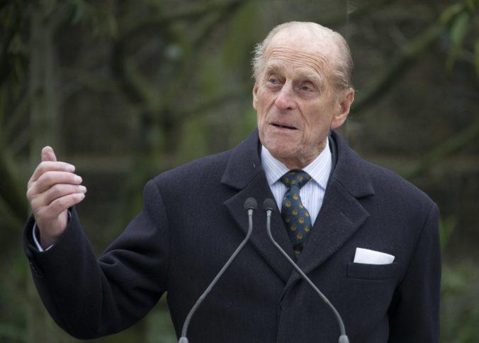 Britského princa Philipa hospitalizovali, v nemocnici by mal stráviť pár dní