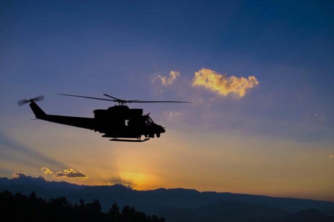 Výletná helikoptéra sa nevrátila z letu, na palube boli aj neplnoleté osoby