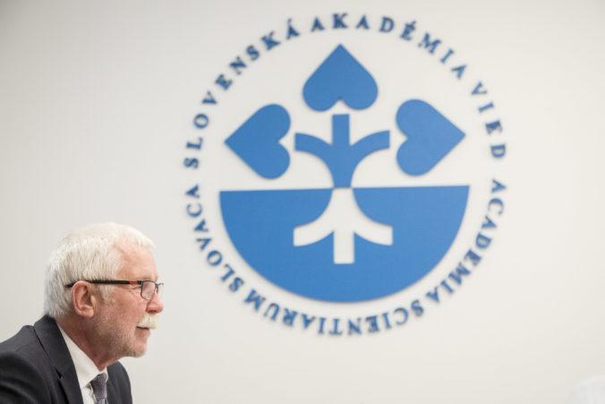 Predseda SAV Šajgalík hodnotí rok 2019 pozitívne, vyzdvihol navýšenie rozpočtu