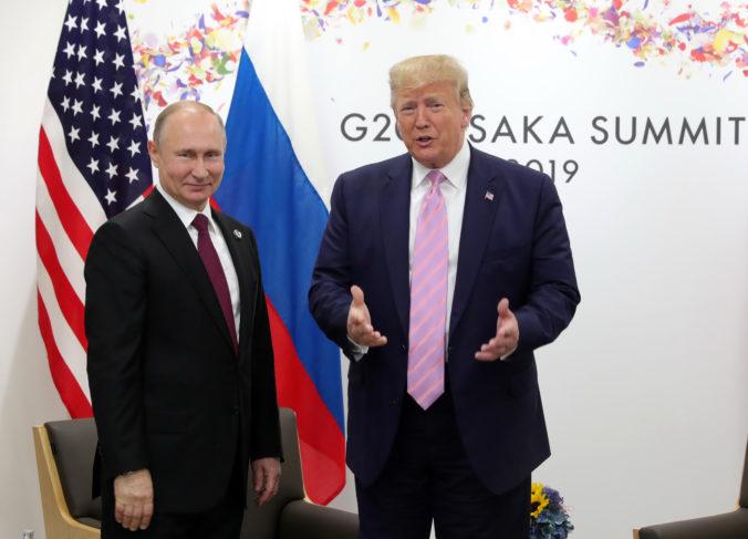Putin poďakoval Trumpovi za informácie, ktoré pomohli Moskve zmariť teroristické útoky