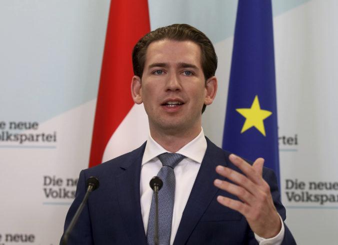 Kurz schvaľuje koniec s FPÖ a pri novej vláde je optimistický, že vydrží celé funkčné obdobie