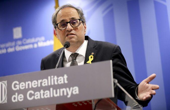 Quimovi Torrovi zrušili poslanecký mandát, ale predseda katalánskej vlády neplánuje odísť