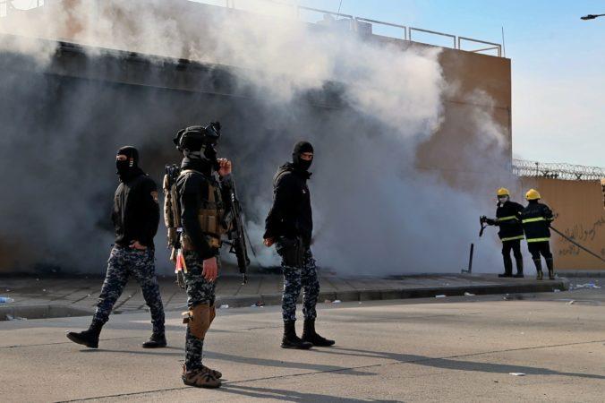 Irán vypálil balistické rakety na Američanov v Iraku, ide o pomstu za smrť Solejmáního