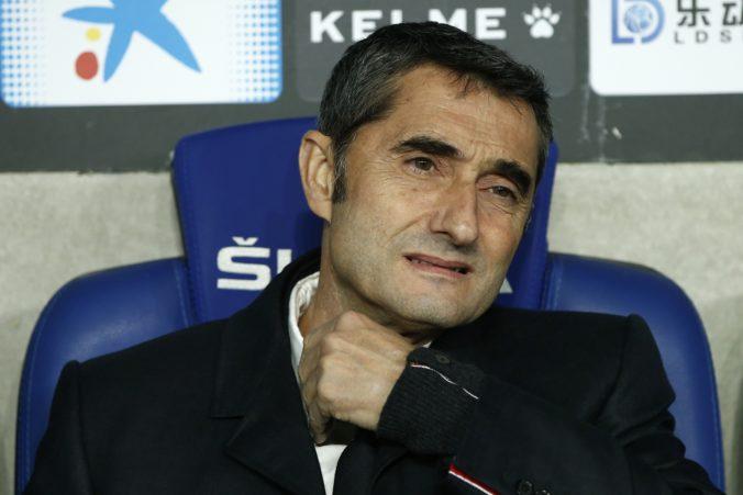 FC Barcelona má nového trénera, Ernesto Valverde na lavičke skončil
