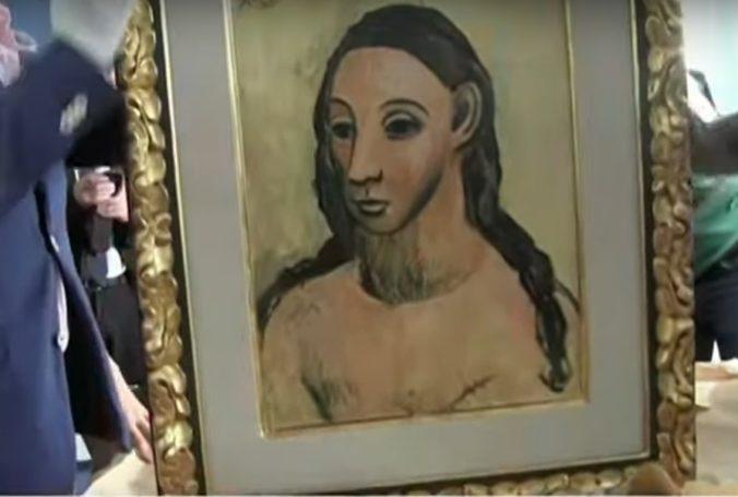 Miliardár pôjde do väzenia, pokúsil sa prepašovať obraz od Picassa a predať na aukcii (video)