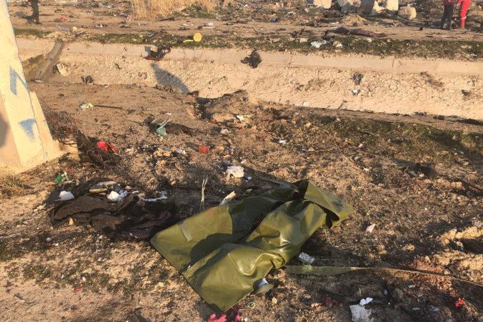 Irán pošle čierne skrinky zo zostreleného lietadla na Ukrajinu, preskúmajú ich odborníci