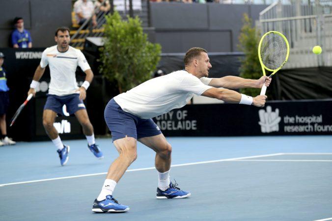 Polášek nezískal svoj 15. deblový titul na okruhu ATP, s Dodigom prehrali finále v Aucklande