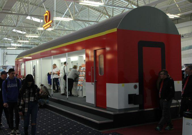 ZSSK bude aj tento rok súčasťou najväčšieho veľtrhu cestovného ruchu na Slovensku