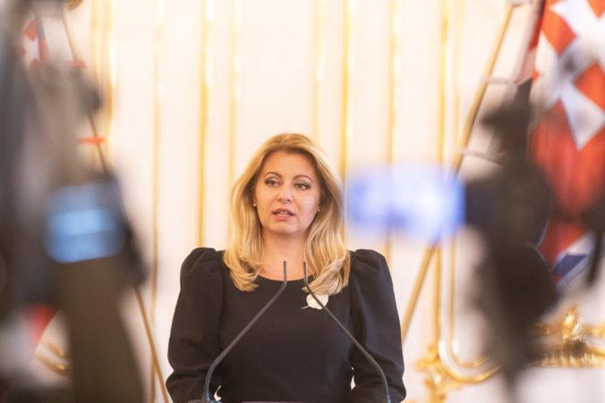 K prepusteniu Trnku došlo po nedostatočnej koordinácii a polície, myslí si prezidentka Čaputová