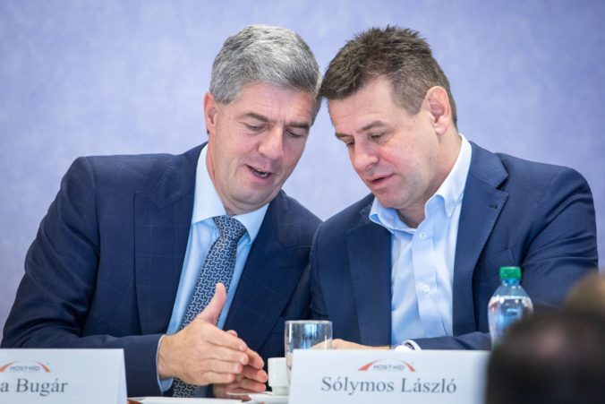 Bugár chce, aby odstupujúci minister Sólymos zostal na kandidátke Mosta-Híd