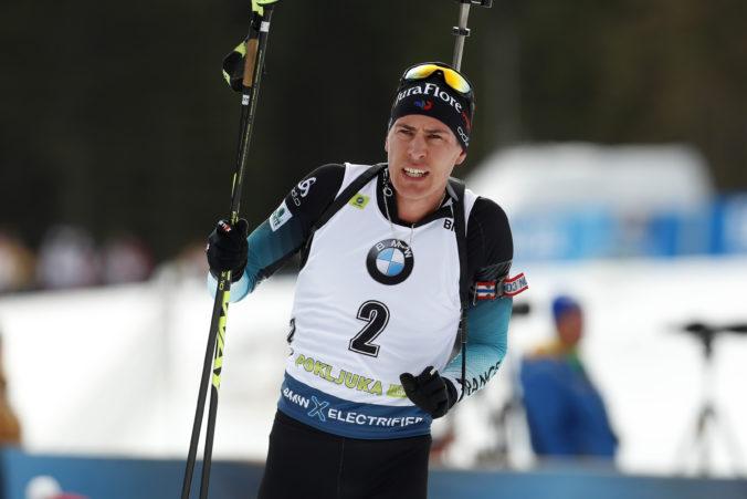 Fillon Maillet sa víťazne naladil na majstrovstvá sveta v biatlone, triumfoval v Pokljuke