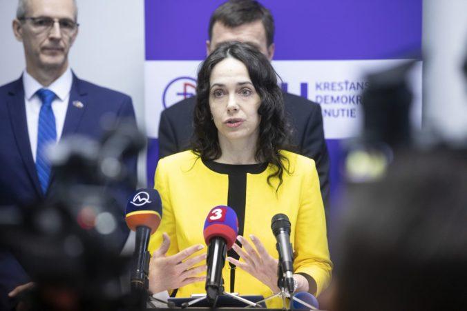 Slovensko má po brexite 14 europoslancov, do funkcie nastúpi Miriam Lexmann z KDH