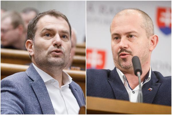Matovič nesúhlasí s antimítingami a Kotlebu označil za klamára, líder ĽSNS reagoval protiútokom