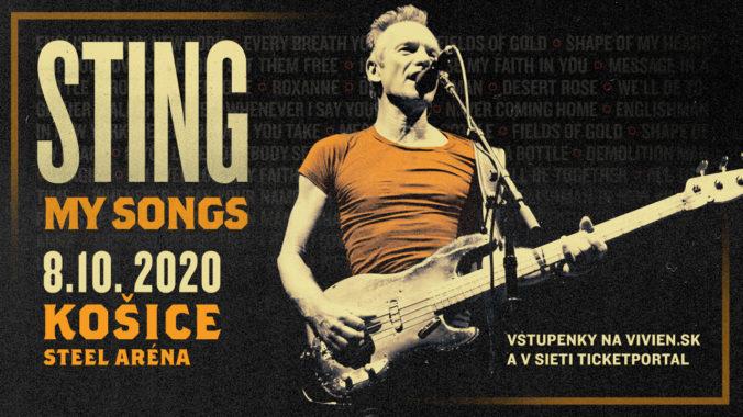 Sting: My songs. Kritikmi oceňované turné pokračuje aj v roku 2020