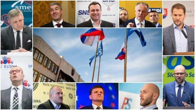 Kiska, progresívci aj OĽaNO sú pod desiatimi percentami, za hranicou parlamentu SaS aj Most-Híd