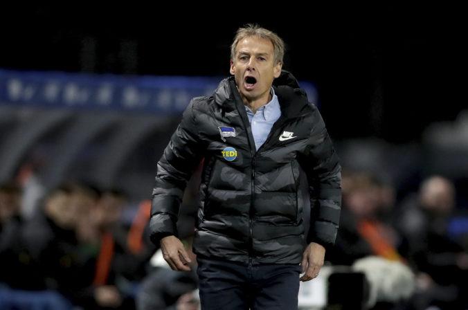 Jürgen Klinsmann skončil v Herthe Berlín, po trénerskej pozícii opustil aj dozornú radu