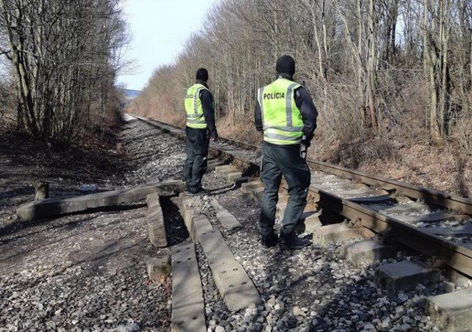 Vlak narazil do drevených dverí, železniční policajti objasňujú aj ďalšie podobné prípady