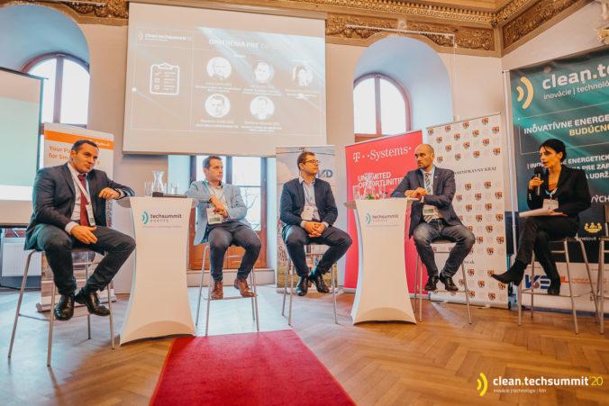 Cleantechsummit priniesol do Košíc nový príval informácií. Hlavnou témou boli inovatívne energetické technológie a služby budúcnosti