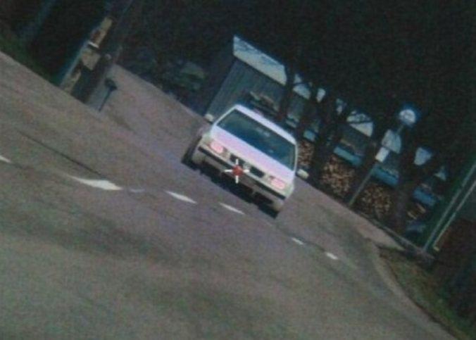 Mladá vodička sa na Volkswagene hnala cez obec Jasenica viac než stovkou, stálo ju to 400 eur
