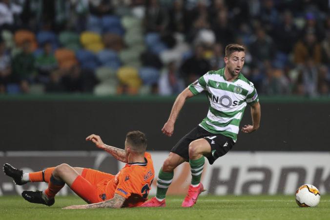 Šporar strelil svoj prvý gól za Sporting Lisabon a v Európskej lige zdolal Šrktelov Basaksehir