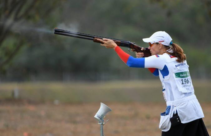 Slovenské strelkyne vyhrali súťaž skeetarok v Dauhe, uspela Barteková aj juniorka Hocková