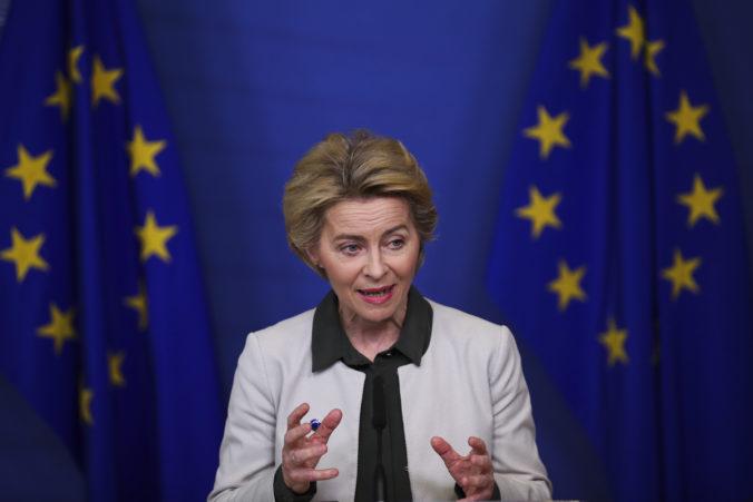 Šéfka Európskej komisie Ursula von der Leyenová navrhla zatvorenie vonkajších hraníc Únie