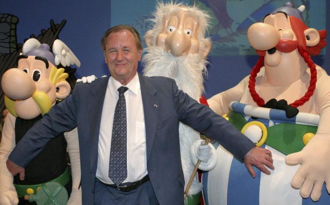 Zomrel jeden z tvorcov Asterixa, ilustrátor Albert Uderzo sa dožil 92 rokov