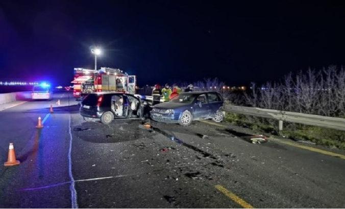 Na D1 v smere do Trnavy došlo v pondelok k dopravnej nehode, obaja vodiči skončili v nemocnici