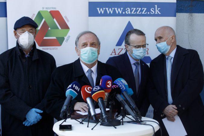 Zamestnávatelia žiadajú Matovičovu vládu, aby urýchlene zriadila hospodársky krízový štáb