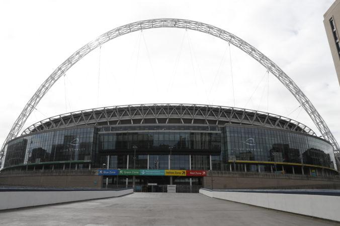 Dohrajú sezónu Premier League na slávnom Wembley? Je to vraj jedna z možností