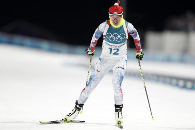 Česká olympionička Veronika Vítková zavesila biatlon na klinec, chce sa venovať rodine