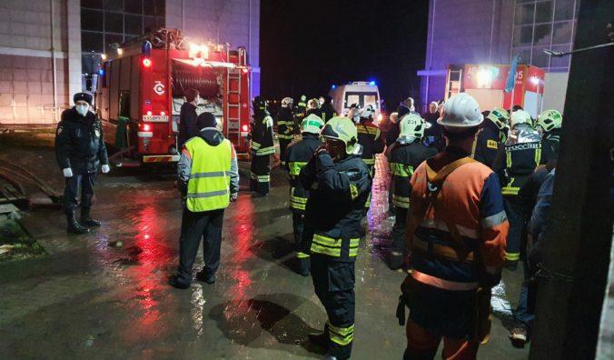 V domove pre seniorov neďaleko Moskvy vypukol požiar, o život prišlo najmenej deväť ľudí
