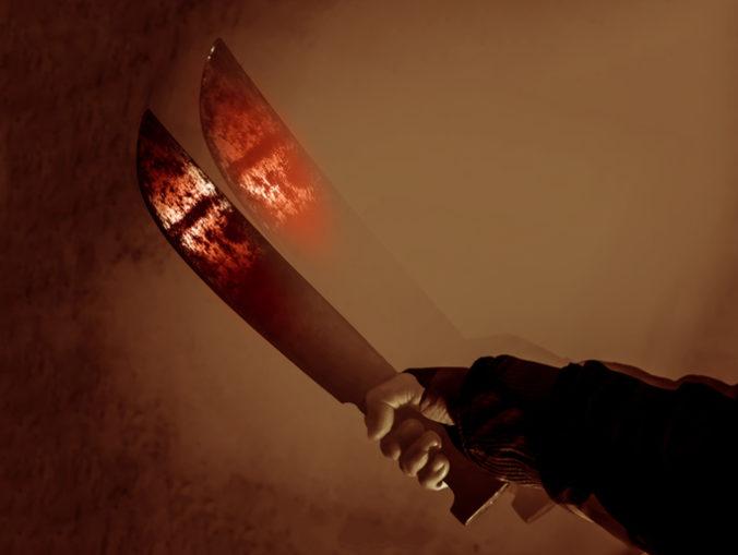 Muža rozčúlili obmedzenia proti koronavírusu, hnev si vybil mačetou na manželoch