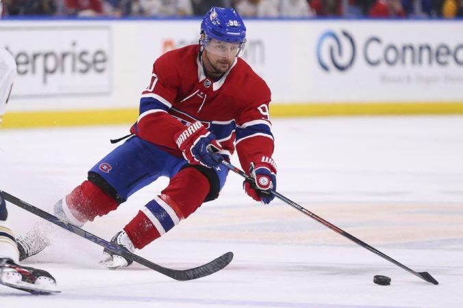 Tomáš Tatar sa po dlhom čase dostal na ľad, Montrealu situácia s koronavírusom pomohla