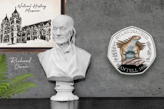 Britská Kráľovská mincovňa vydala nevídanú kolekciu mincí Dinosauria s rozšírenou realitou