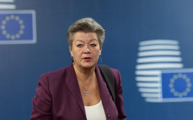 Hranice v rámci Schengenu by sa podľa eurokomisárky Johanssonovej mohli otvoriť do konca júna