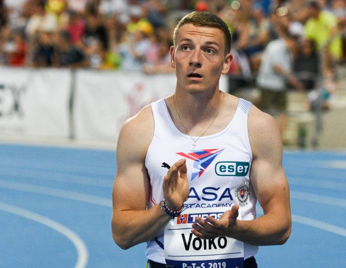 Skvelý Volko vylepšil v Ostrave slovenský rekord na 60 metrov pod holým nebom