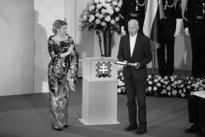Zomrel kameraman Igor Luther, ktorému prezidentka Čaputová udelila Pribinov kríž I. triedy