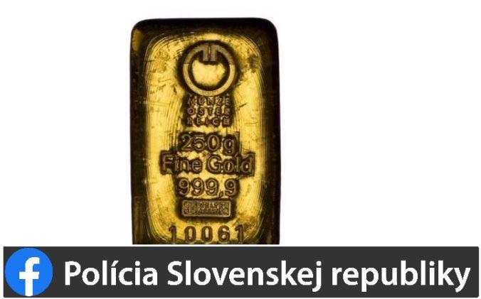 Akcia Rezervy pokračuje, NAKA zaistila u Kičuru zlaté tehličky