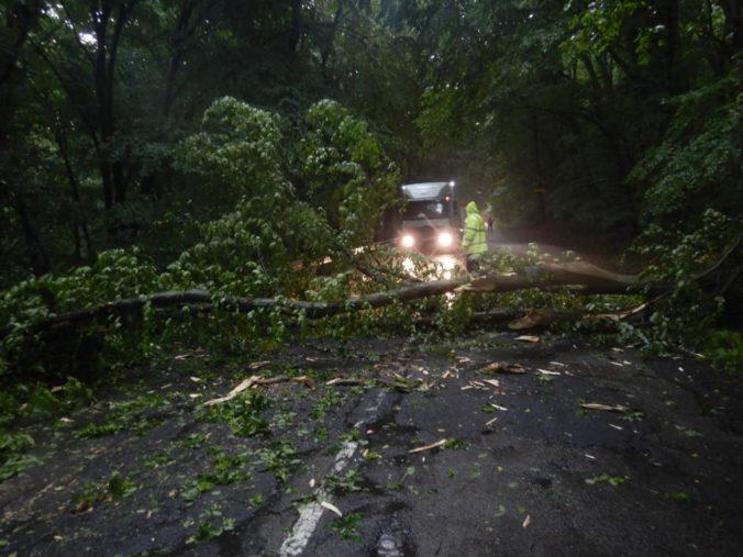 Silný dážď vytrápil hasičov, prívalová vlna zasiahla dom a pomáhali aj pri spadnutých stromoch (video)