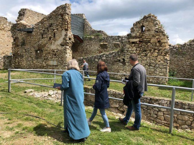 Ministerka Milanová skontrolovala rekonštrukciu Spišského hradu, urobí všetko pre podporu pamiatok