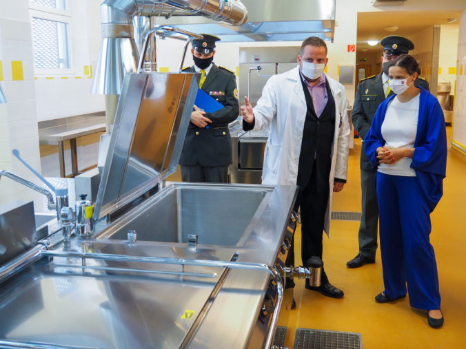 Väznica v Leopoldove má novú kuchyňu, použili najmodernejšie technológie (foto)
