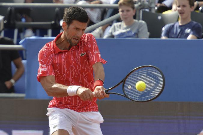 Štyria tenisti z turnaja v Zadare sú nakazení koronavírusom, Djokovič test zatiaľ nepodstúpil