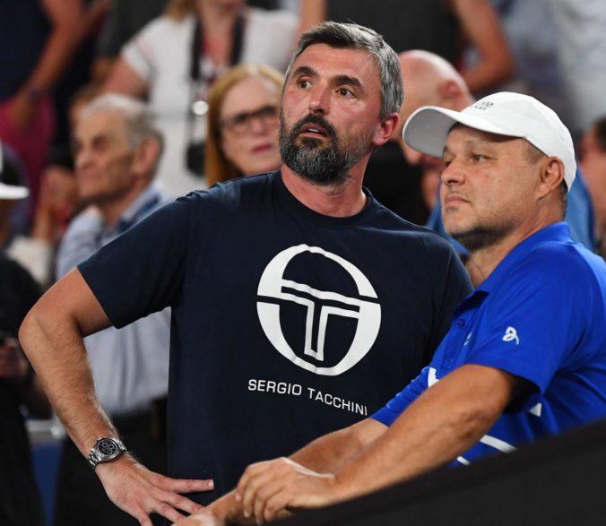 Djokovičov tréner Ivaniševič je pozitívny na COVID-19, nakazil sa na spackanom Adria Tour