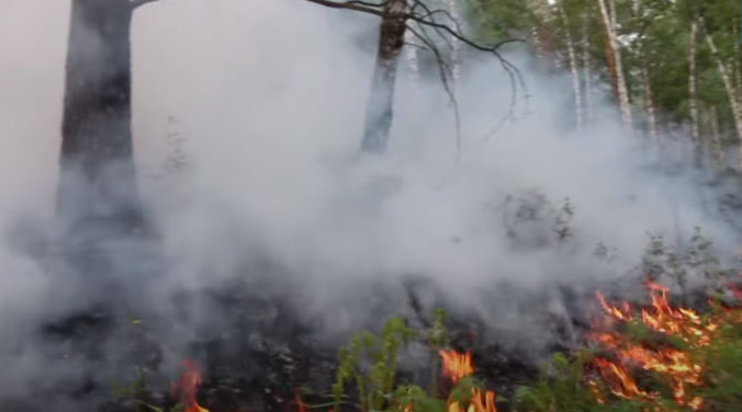 Nezvyčajná vlna horúčav spôsobila na Sibíri lesné požiare, za týždeň sa päťnásobne zväčšili