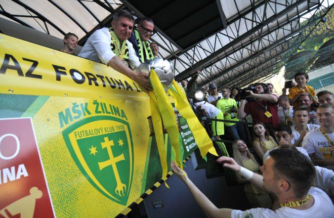MŠK Žilina zrušil proces likvidácie. Klub bude pokračovať a trom hráčom už obnovili zmluvy