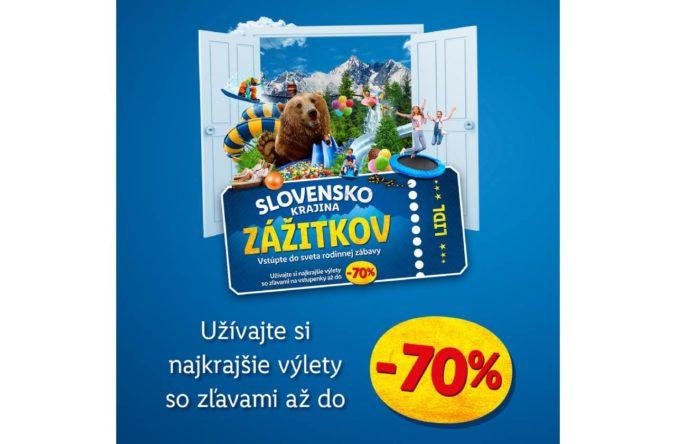 Krajina zážitkov: Lidl prispeje zákazníkom na výlety a dovolenky na Slovensku