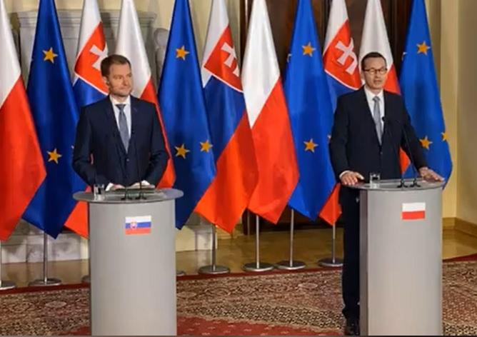 Poľsko ukázalo cestu, ako bojovať proti komunizmu, korupcii a korone, vyhlásil premiér Matovič (video+foto)